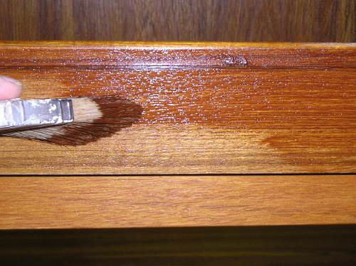 Restain Cabinets For A New Look
