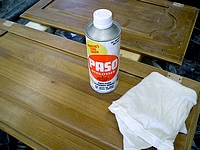 Paso-finish cleaner and deglosser.