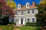 Colonial revival style house.