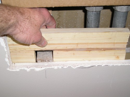 Drywall Repair Repairing Large Holes With The Furring