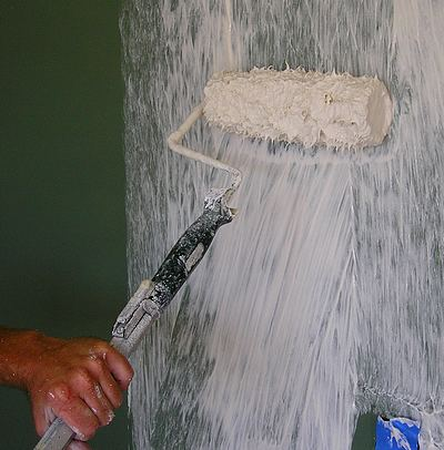 Knockdown Ceiling Spray CanBasement Process Calgary Contractors