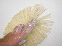 Stomp or slap texture brush.