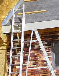 Extension & step ladders.