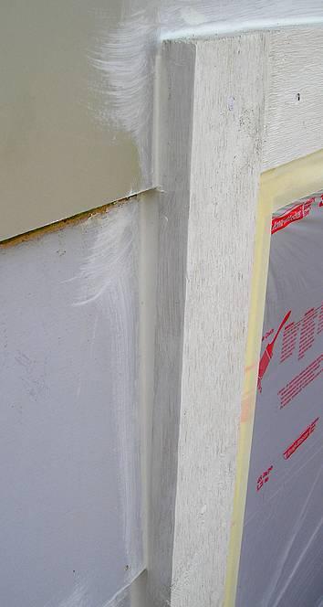 Keep The Water Out! Caulk Around Windows For A Lasting Paint Job.