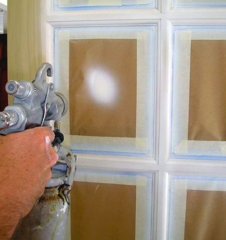 Paint And Primer >> Using an HVLP Spray Gun - The Practical House Painting Guide