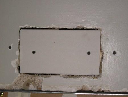 How To Repair A Medium Drywall Hole The Practical House