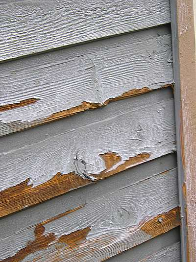 Causes Of Exterior Peeling Paint