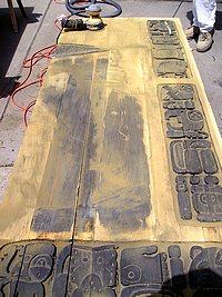 Removing the Old Finsh from the Custom Door. & Refinishing a Wood Door: Part 2 u2013 Sanding the Wood Doors