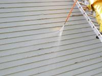 Preparing Rough Sawn Lumber For Repainting