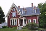Victorian style house.