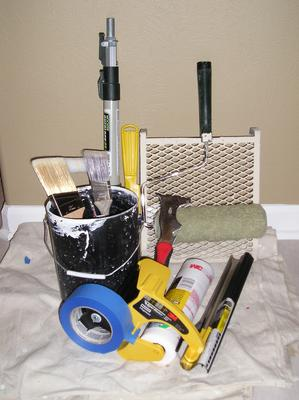 Basic House Painting Tool Kit