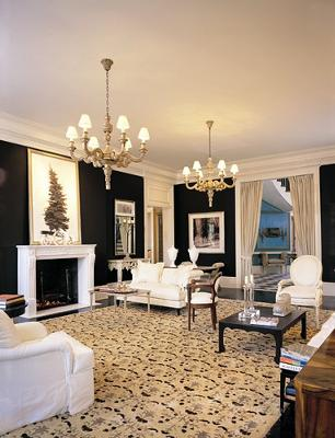 Elegant Formal Living Room.