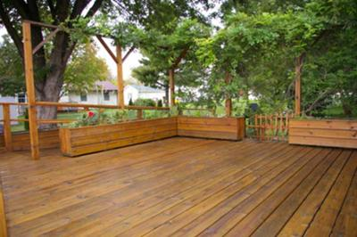 Proper Preparation Wood Deck Refinishing The House