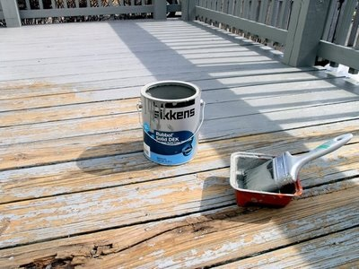 Refinishing My Very Rough Pressure Treated Wood Deck