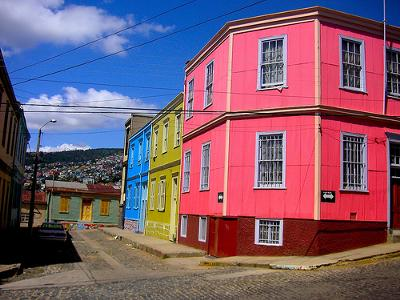 Attractively Painted Buildings