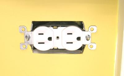 how to cut drywall around outlets