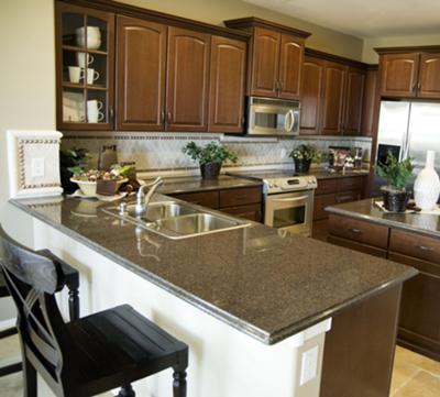 Lovely kitchen cabinets.