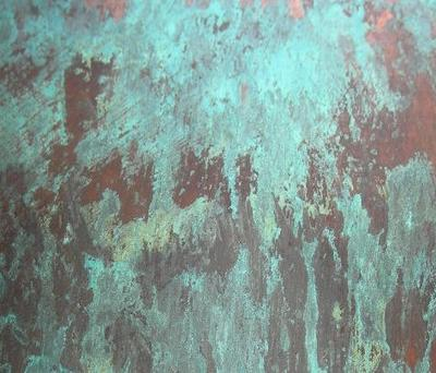 Copper Verdigris Finish