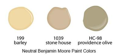 Paint colors to enhance the buyer's experience.