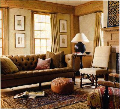 Beutiful Rustic Livingroom