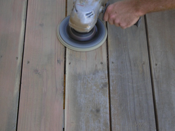 Washing versus Sanding – Which is the Better Way to Prep the Deck?