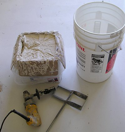 Drywall Mud Mixing