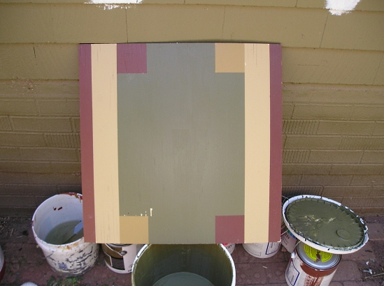 Exterior paint samples are essential the practical house - Test exterior paint colors online ...