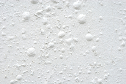 Paint bubbling on interior wall.