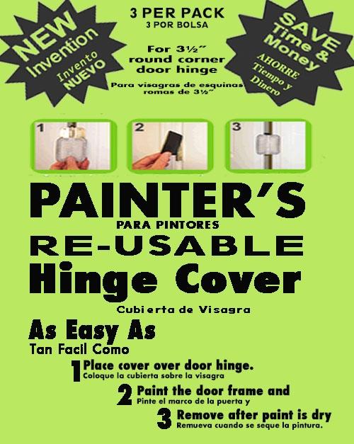 New Paint Tool Magnetic Door Hinge Covers
