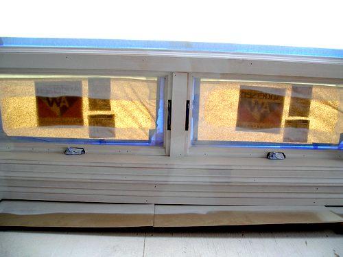 Primed Casement Windows