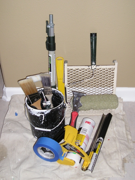 Know The Interior Painting Tools You Need