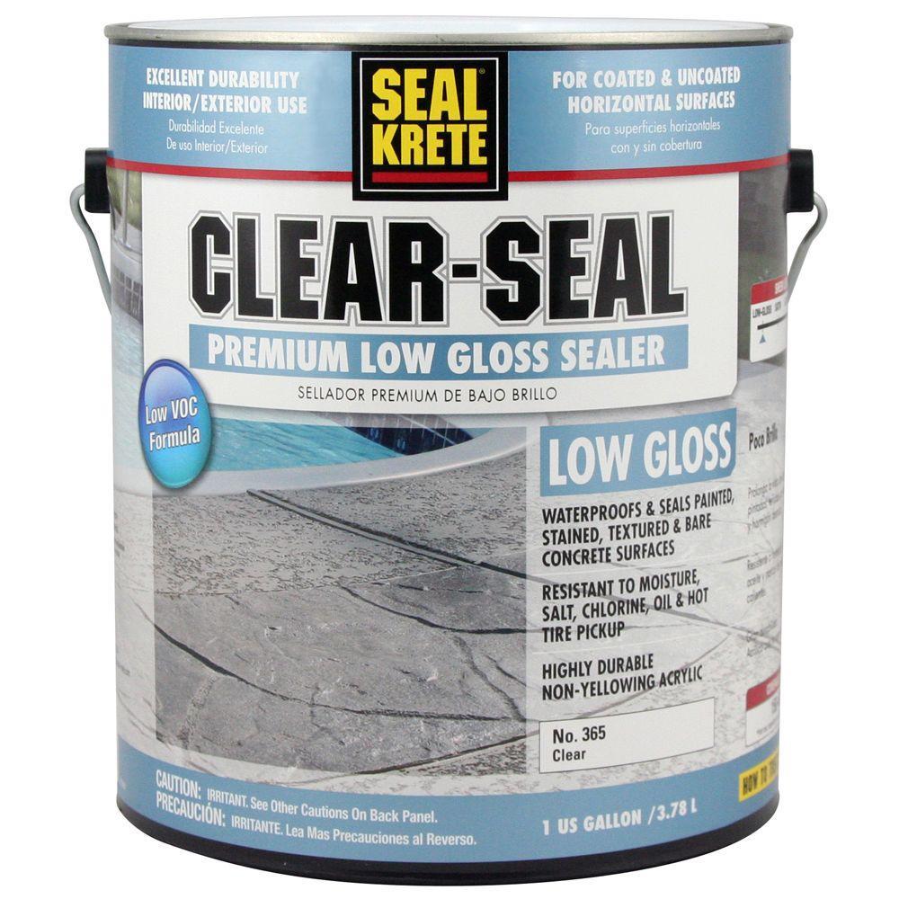 Seal Krete Clear Acrylic Masonry Sealer