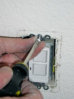 Remove Electrical Covers Before Painting.