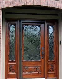 Modern entry doors