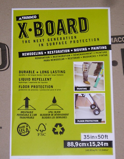 X-Board Label