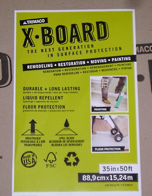 X-Board Label