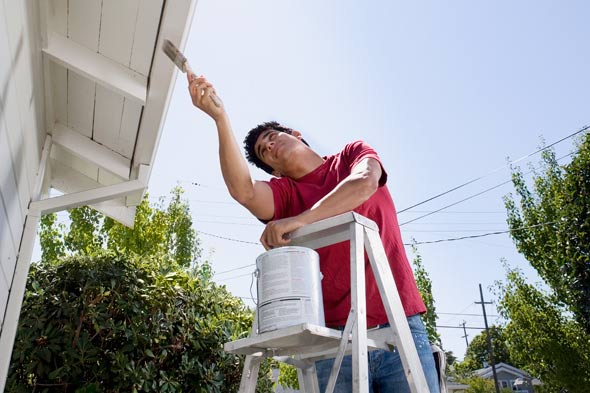 painting the outside of your house made easy with these 4 tips