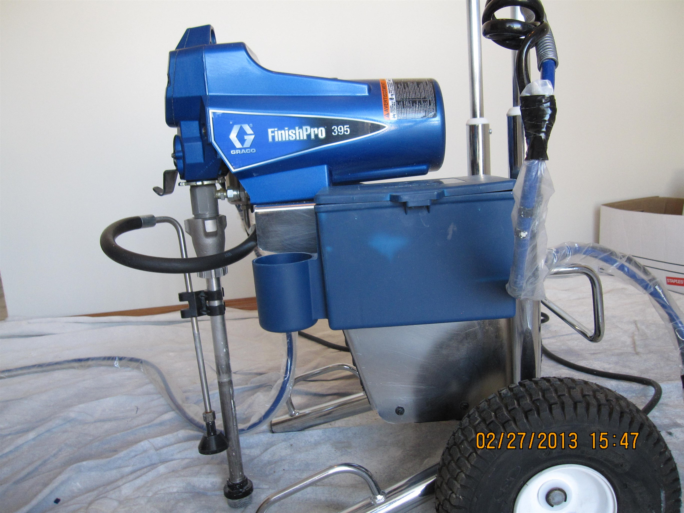 Graco Air Assisted Airless Pump